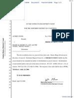 Ponsi v. Magical Cruise Company, Ltd. et al - Document No. 8