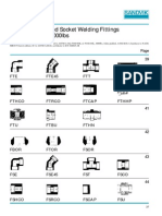 NPT Threaded and Socket Welding Fittings ANSI Standard 3000lbs