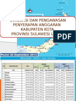 Rekap Sismontep Kab. Kota 09302013