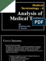 Analysis Medical Term