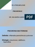 Curs 4 Pneumologie