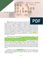 Darwin y Los Darwinismos - Núñez de Castro