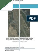 Laporan Survey Topografi Waingapu