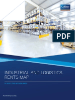 Colliers Industrial and logistics rents map 2015 H1