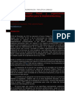 Reforma Penal e Implementación