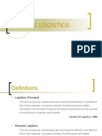 Reverse Logistics Presentation