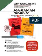 Set Nota Lengkap Pengajian Am Penggal 3 STPM 2015