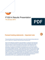 2014 12 FY - Presentation