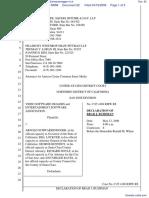 Video Software Dealers Association et al v. Schwarzenegger et al - Document No. 82
