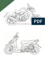 Motor Lomba Mewarnai