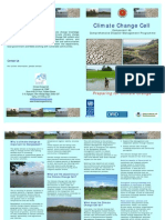 Climate Change Cell Brochure