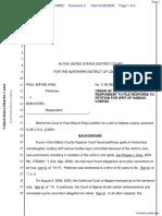 King v. Horel et al - Document No. 2