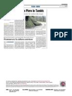 Promuovere la cultura conviene - Il Corriere Adriatico del 9 aprile 2015