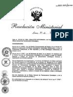 Lineamientos Generales de Planeamiento 2005