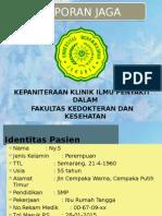 Laporan Jaga Ulkus DM 29-01-2015