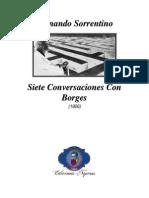 Fernando Sorrentino Siete Conversaciones Con Borges PDF