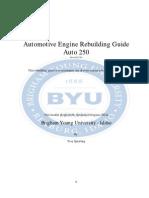 Automotive Engine Rebuilding Guideauto 250revised 12
