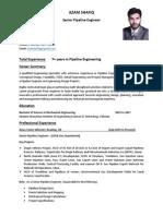 2015 01 30 CV Azam Shafiq Pipeline