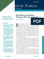 FRANCKO, Patrice. The Defense Acquisition Trilemma