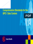 18. Comprehensive Standards for BPO Centers 013005