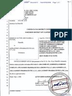 Patton et al v. Astrazeneca Pharmaceuticals, L.P. et al - Document No. 5
