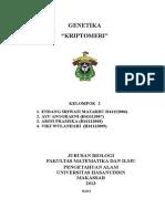 makalah kriptomeri