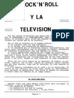 Anónimo - El Rock'N'Roll y La Televisión (Scan)
