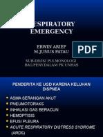 Respiratory Emergency