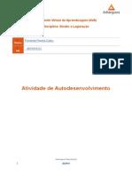 Atividade de Autodesenvolvimento 03