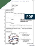 Apple Computer Inc. v. Burst.com, Inc. - Document No. 51