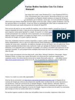 Trucos Para Crear Varias Redes Sociales Con Un Unico Correo De Gmail O Hotmail