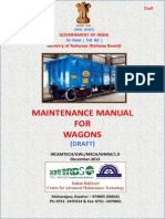 Maintenance Manual for Wagons