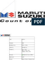 Maruti Suzuki Presentation
