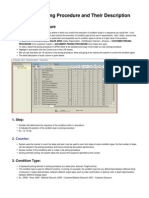 16FieldsinPricingProcedureandTheirDescription