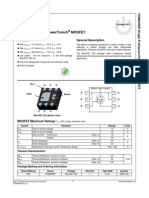 30077034_tr Pmos Fdma905p -10a-12v Microfet 2x2