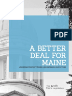 A Better Deal for Maine