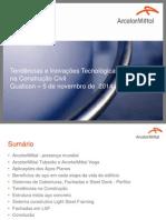 Tendências e Inovações Tecnológicas Na Construção Civil
