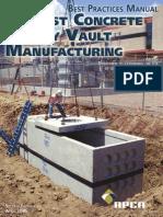 Uv_bpm Utility Vaults Precast NPCA