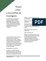 Normas APA Para Trabajos Escritos y Docentos de Investigcion Yaird Gomez Garcia. bn
