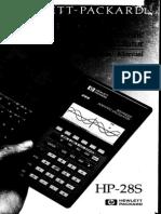 HP28S User Guide