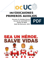 Intoxicaciones DUOC PAUX 2015