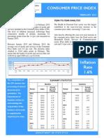 Consumer Price Index - Feb 15