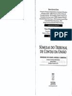 BRUNO SANTOS CUNHA - Súmulas do Tribunal de Contas da União (2012).pdf