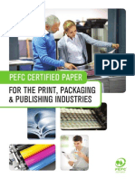 PEFC - For the Print, Packaging and Publishing Industries