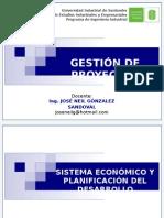 Gestion de Proyectos Sistema Economico y Planificación Del Desarro