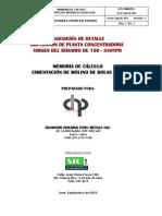 Cimentacion Molino 8'x8'_Civil