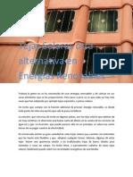 Tejas Solares Otra Alternativa en Energía Renovable