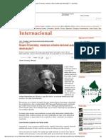 Noam Chomsky_ Estamos à Beira Da Total Auto Destruição_ - Carta Maior