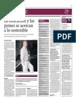 08-04-2015- El Comercio - La Educacion y Las Pymes Se Acercan a Lo Sostenible