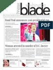 Washingtonblade.com, Volume 46, Issue 15, April 10, 2015